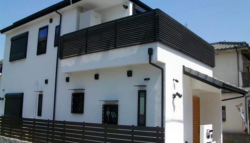 明石市U様邸新築外観 建物価格2,200万 土地価格1,400万