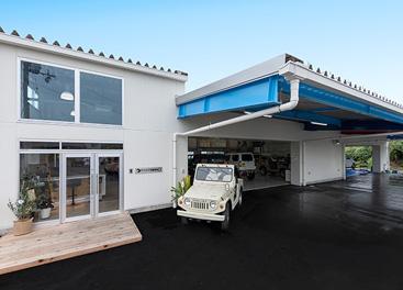 【明石・工場新築】海の見えるおしゃれな自動車整備工場